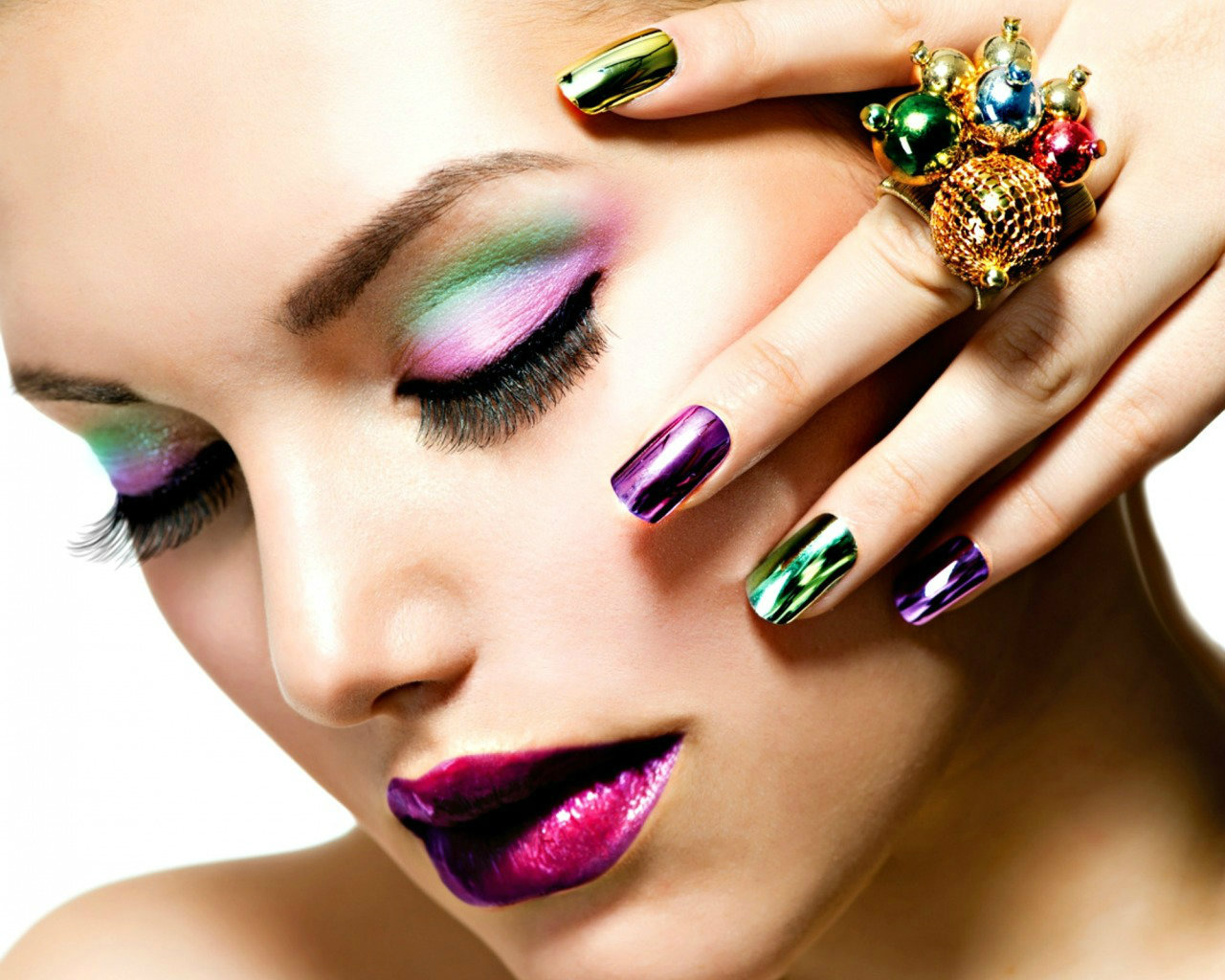 Inspiration.colorful.nails