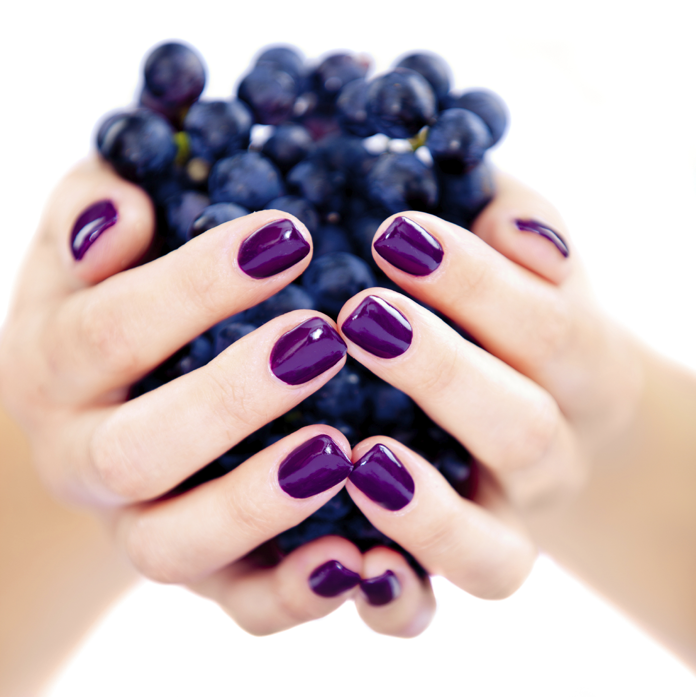 Inspiration.nails.purple.manicure